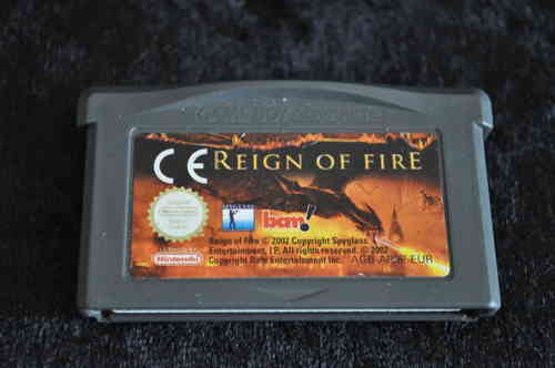 Gameboy Advance Reign of fire