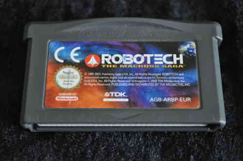 Gameboy Advance Robotech