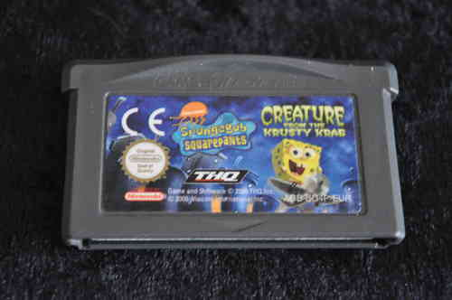 Gameboy Advance Spongebob squarepants greature from the krusty krab
