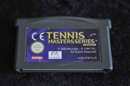 Gameboy Advance Tennis mastersseries 2003