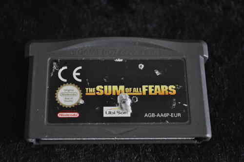 Gameboy Advance The sum of all fears