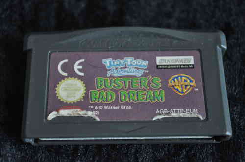 Gameboy Advance Tinytone busters bad dream