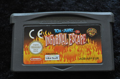 Tom and jerry infurnal escape Gameboy Advance