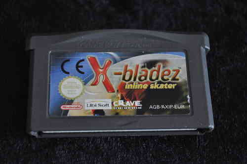 Gameboy Advance X bladez inline skater