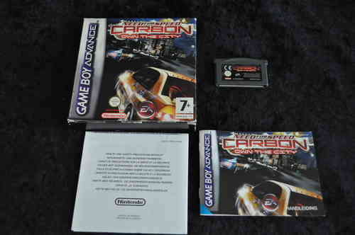 Gameboy Advance Need for speed carbon own the city Boxed