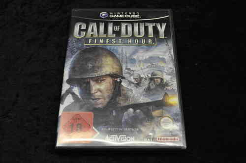 Gamecube Game Call Of Duty - Finest Hour