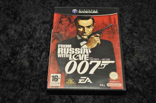 James Bond  From Russia With Love 007 Nintendo GameCube