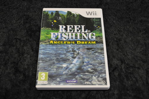 Nintendo wii Game Reel fishing anglers dream