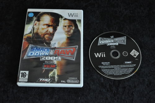 Nintendo wii Game Smackdown vs raw 2009