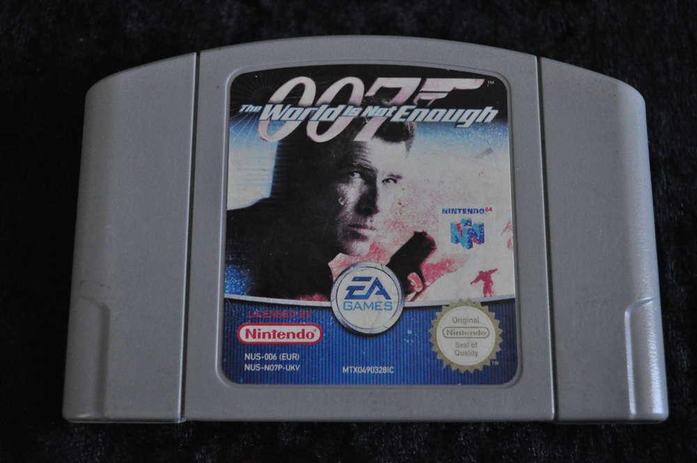 Nintendo 64 Game 007 The World Is Not Enough Retrogameking Com