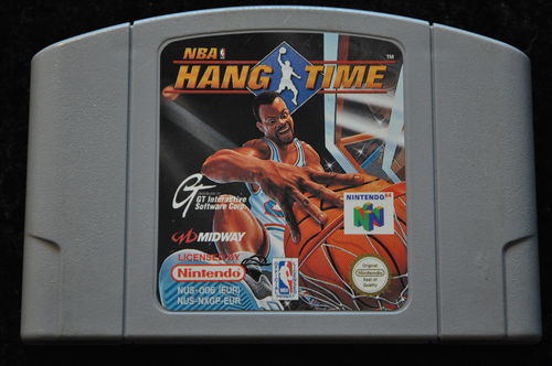 NBA hang time Nintendo 64 N64