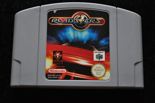 Roadsters Nintendo 64 Game