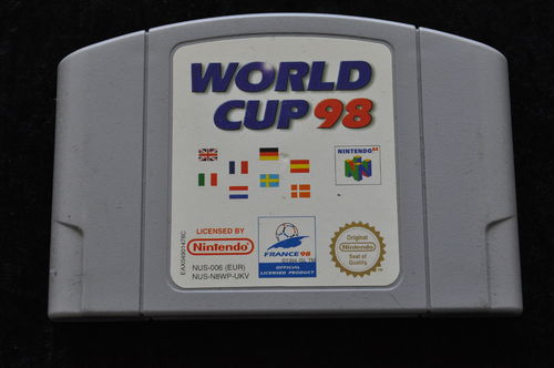 World cup 98 Nintendo 64 Game