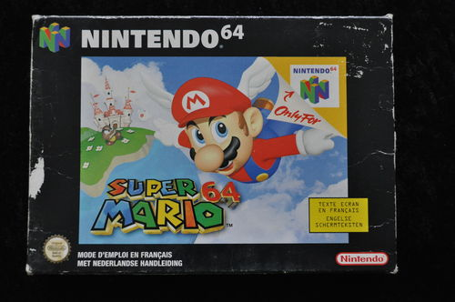 Super Mario 64 Nintendo 64 N64 Boxed PAL