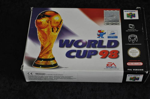 Nintendo 64 World cup 98 boxed