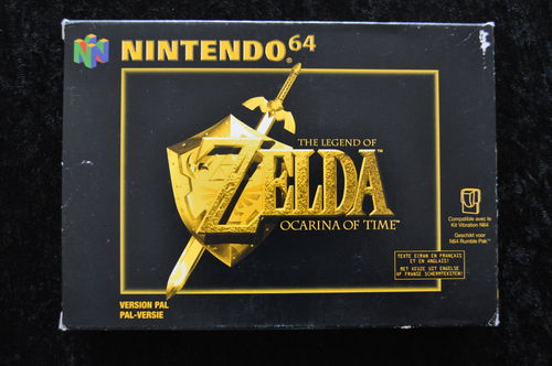 The Legend Of Zelda ocarina of time Nintendo 64 Boxed PAL