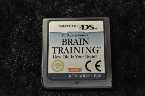 Nintendo DS Brain training how old is your brain