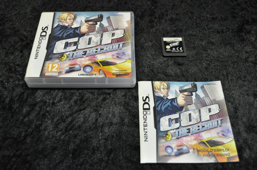 Nintendo DS COP the recruit Boxed