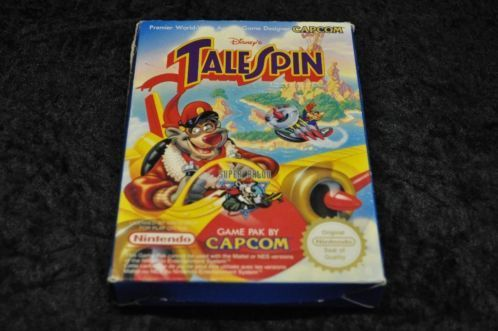 Nintendo Nes Talespin Boxed