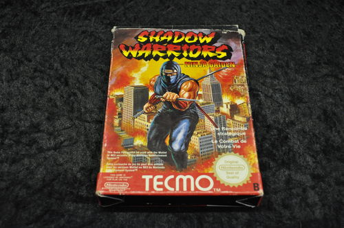 Nintendo Nes Shadow warriors Boxed