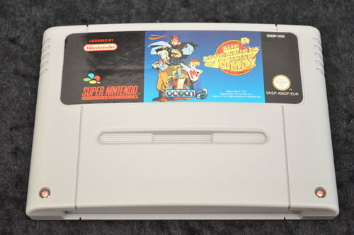Nintendo SNES The adventures of mighty max