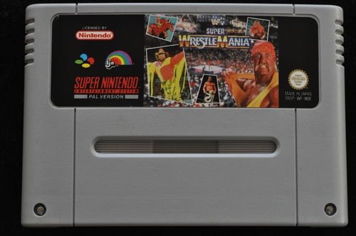 Super Wrestle Mania Nintendo SNES