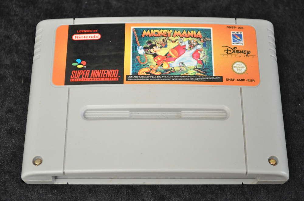 Mickey mania Nintendo SNES