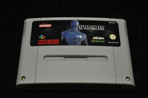 Nintendo SNES Rise of the robots