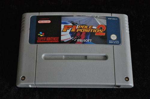 Nintendo SNES F1 pole posistion 2