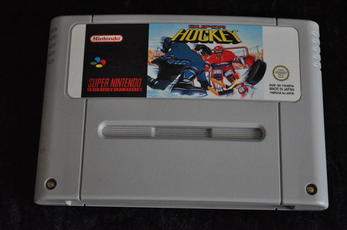 Nintendo SNES Super hockey