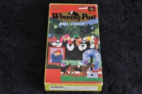 Nintendo SNES Winning post Boxed
