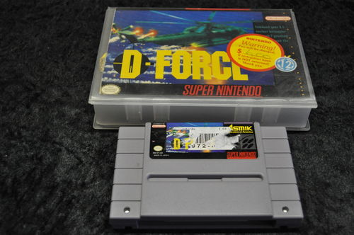 Nintendo SNES D force Hard cover NTSC