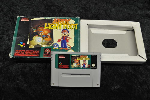 Nintendo SNES Ardy lightfoot Boxed
