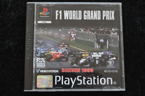 F1 World Grand Prix Playstation 1 PS1