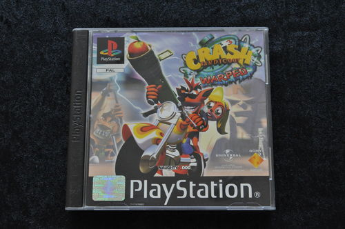 Crash Bandicoot 3 warped Playstation 1 PS1