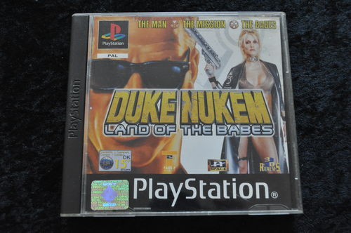 Duke nukem land of the babes Playstation 1 PS1
