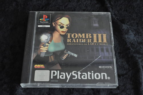 Tomb raider 3 Playstation 1 PS1