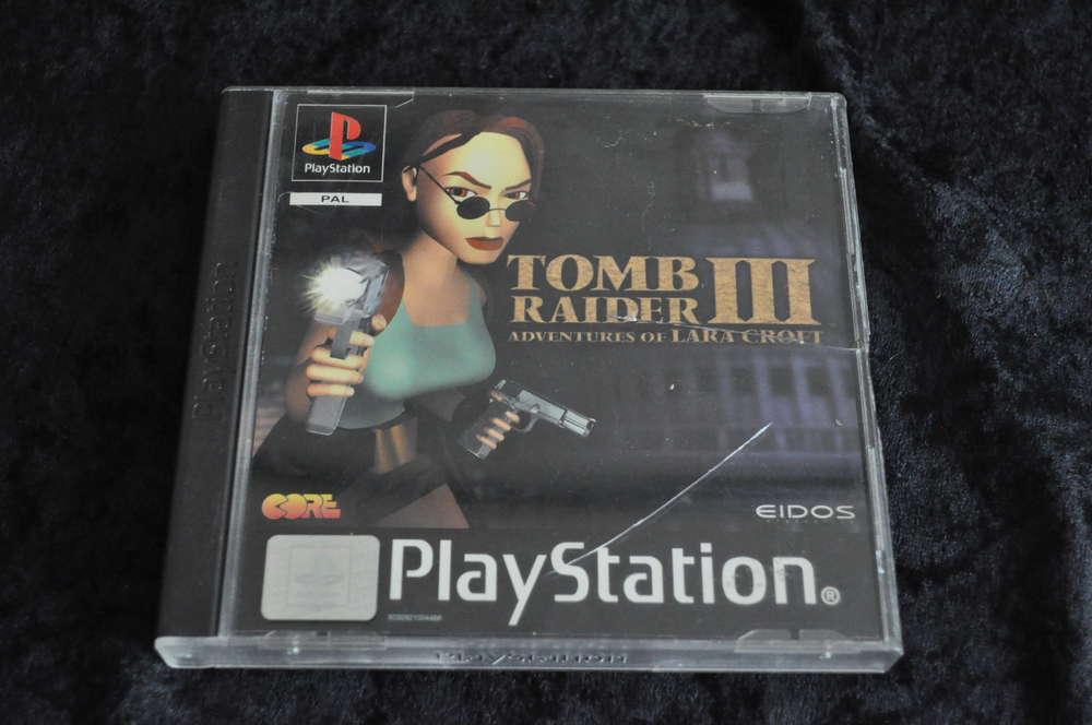 Tomb Raider 3 Playstation 1 Ps1 Retrogameking Com Retro Games