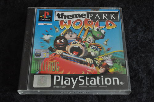 Theme park world Playstation 1 PS1