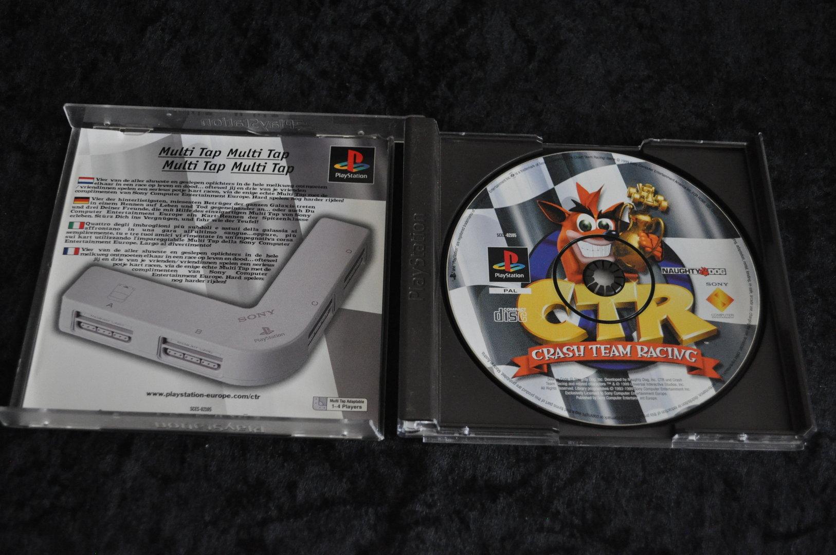 Playstation1 CTR crash team racing No Manual - Retrogameking