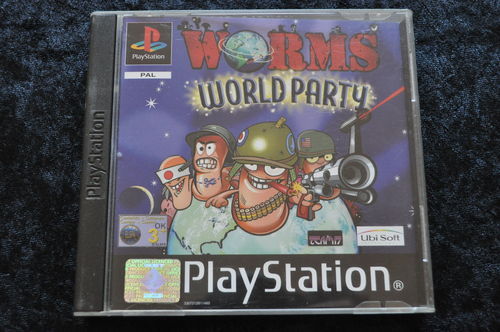 Worms world party Playstation 1 PS1