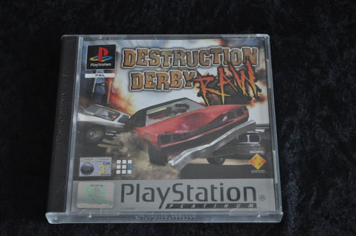 Destruction Derby RAW Platinum Playstation 1 PS1