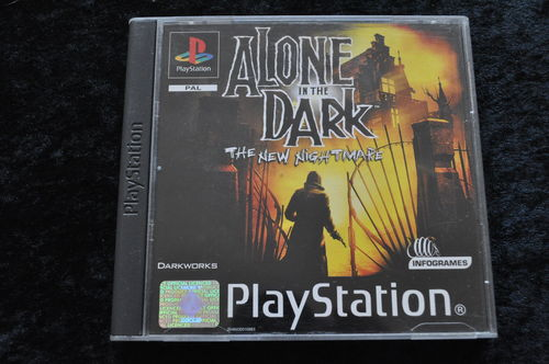 Alone in the dark the new night mare Playstation 1 PS1