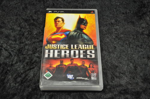 PSP Game Justice Leaque Heroes