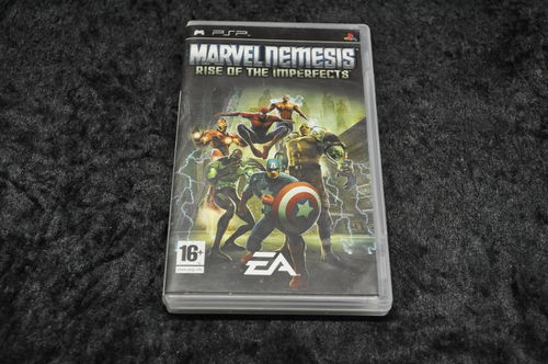 PSP Game Marvel Nemesis Rise Of The Imperfects