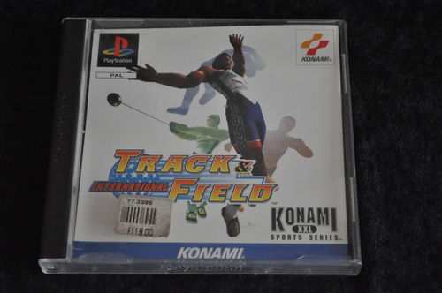 International track & field Playstation 1 PS1