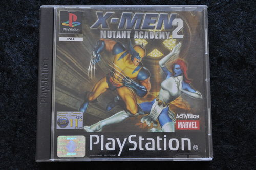 X-men 2 mutant academy Playstation 1 PS1