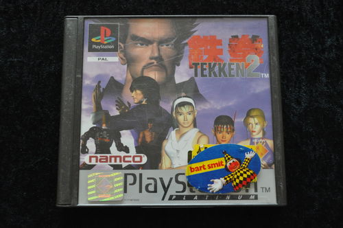 Tekken 2 Platinum Playstation 1 PS1