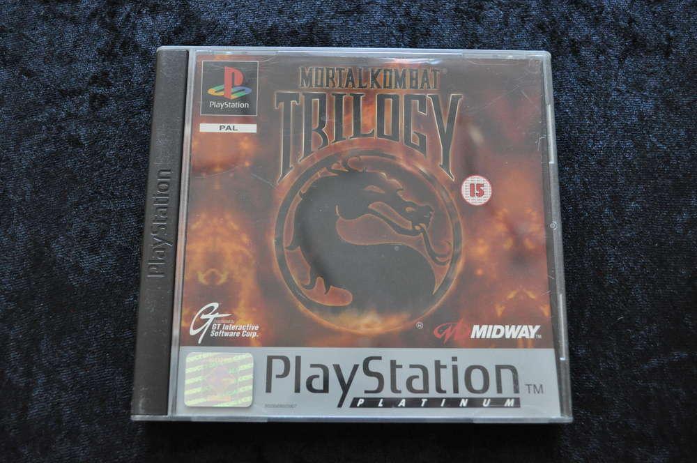 Mortal kombat Trilogy Playstation 1 PS1 Platinum