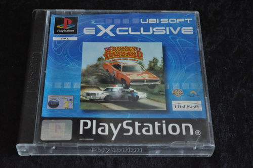 Dukes of hazzard racing for home exclusive Playstation 1 PS1